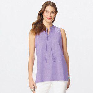 Super cute purple summer top